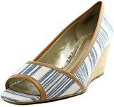 Easy Spirit Brigette Women US 6.5 White Wedge Sandal