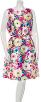 Oscar de la Renta Spring 2016 Floral Print Dress