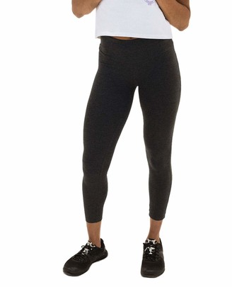 Spalding Women's Misses Activewear High Waisted Cotton/Spandex Ankle Legging