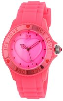 Ice Watch Ice-Watch Women's Ice-Love LO.PK.U.S.10 Plastic Quartz Watch with Dial