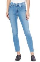Paige Vintage - Hoxton High Waist Straight Leg Jeans