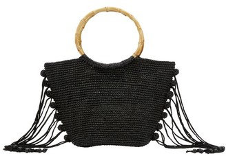 Sensi Studio Bamboo handle handbag