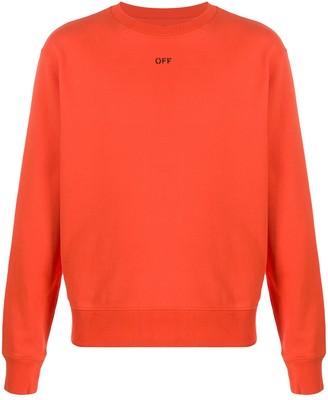 Off-White Stencil slim-fit sweatshirt