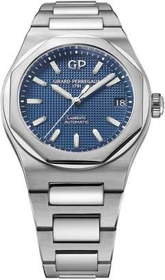 Girard Perregaux Stainless Steel Laureato Watch 42mm
