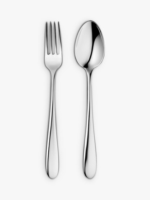 John Lewis & Partners Dome Dessert Cutlery, 6 Place Settings