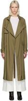 Isabel Marant Khaki Dracen Trench Coat