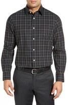 Nordstrom Smartcare TM Wrinkle Free Regular Fit Plaid Sport Shirt