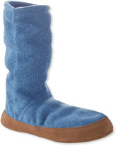 L.L. Bean Sweater Fleece Slipper Socks