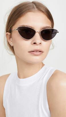 Stella McCartney Stella Essentials Narrow Cat Eye Sunglasses