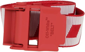 Off-White 2.0 Industrial Belt Red