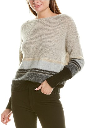 360 Cashmere Sariah Wool & Cashmere-Blend Sweater