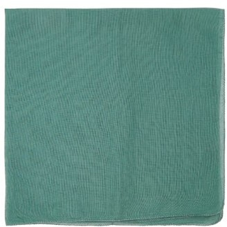 Lisa Corti - Set Of 12 Cotton-gauze Napkins - Dark Green