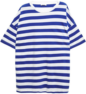 American Vintage Exiastreet Striped Cotton-jersey T-shirt