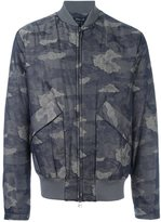 Helmut Lang camouflage print bomber jacket - men - Polyamide/Cotton - S