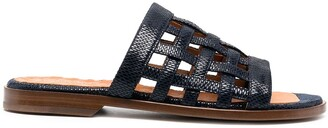 Chie Mihara Wela leather woven sandals