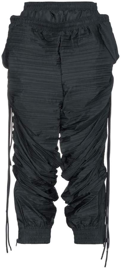 Y/Project Y / Project oversized double layered cropped track pants