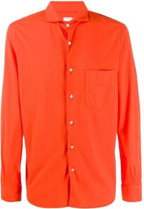 Aspesi spread collar regular-fit shirt