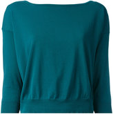 Roberto Collina three-quarter sleeve jumper - women - Cotton - XS