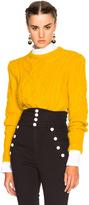 Isabel Marant Gayle Irish Baby Alpaca Sweater