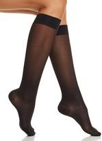 Wolford Shape & Control Knee-High Travel Socks