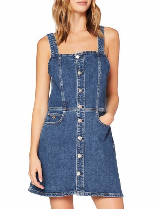 Calvin Klein Jeans Women's Button Down Tank Dress