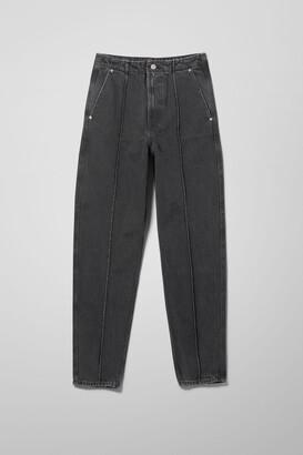 Weekday Carver Denim Trousers - Black