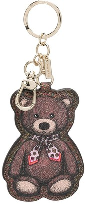 Etro Teddy Bear Print Keyring