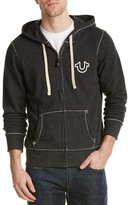 True Religion Mens Big T Zip Hoodie, Xl