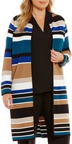 Calvin Klein Plus Stripe Long Soft Jacket