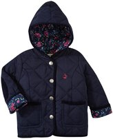 Jo-Jo JoJo Maman Bebe Quilted Jacket (Baby) - Navy-6-12 Months