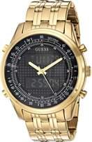 GUESS GUESS? Men's U0859G1 Digital Display Quartz Gold Watch