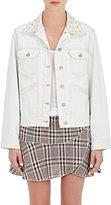Etoile Isabel Marant Women's Christa Beaded Denim Jacket-NUDE