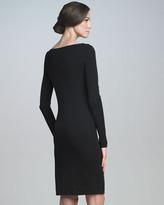 Piazza Sempione Long-Sleeve Sheath Dress