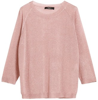 Max Mara Cropped-Sleeve Sweater