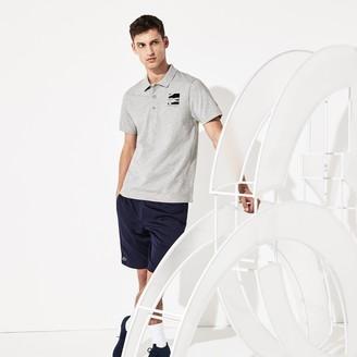 Lacoste Men's SPORT Novak Djokovic Lightweight Cotton Polo