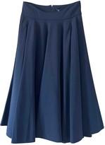 Agnona Black Wool Skirt for Women