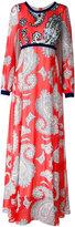 Manoush paisley print maxi dress - women - Cotton/Nylon/Polyester - 36