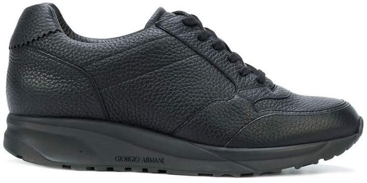 Giorgio Armani classic lace-up sneakers