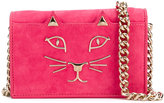 Charlotte Olympia Little Kitty satchel - women - Goat Skin - One Size