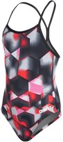 Arena Youth Lava Light Drop Back One Piece Swimsuit 8132699
