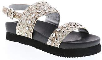 Volatile Women's Sandals SILVER - Silver Studded Leema Leather Sandal - Women