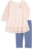 Girl's Pippa & Julie Tunic & Capris Set