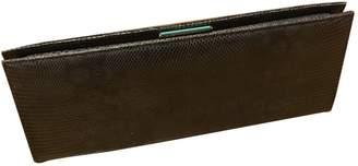 Tiffany & Co. \N Anthracite Python Clutch bags