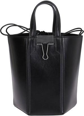 Off-White Binder Clip Bucket Bag