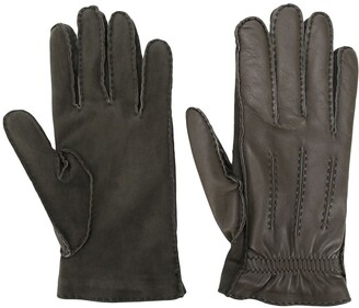Brunello Cucinelli Combined Panelled Gloves