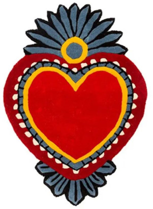 Kitsch Kitchen - Milagro Heart Rug