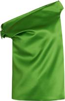Balenciaga Asymmetric-neck satin top