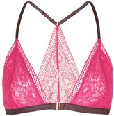 Topshop Floral Geo Lace Triangle Bra