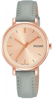 Pulsar Women's Analogue Analog Quartz Watch with Stainless Steel Strap PH8366X1