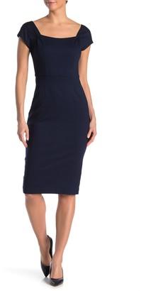 Trina Turk Cascade Cap Sleeve Dress